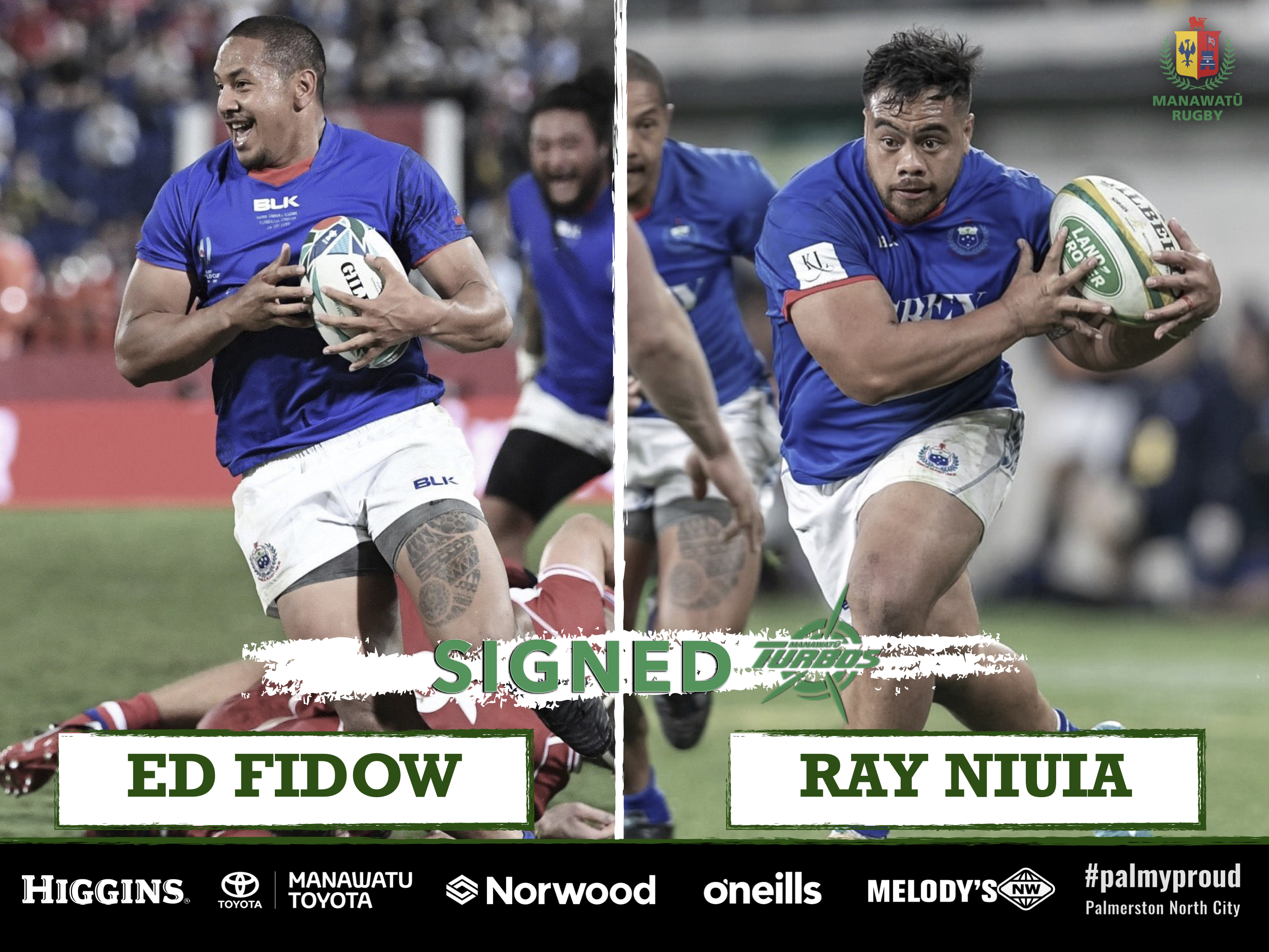 DOUBLE SIGNING FOR TURBOS